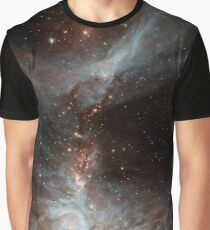 Black Galaxy Graphic T-Shirt