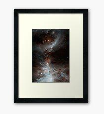 Black Galaxy Framed Print