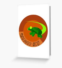 Hectic Hoi Greeting Card