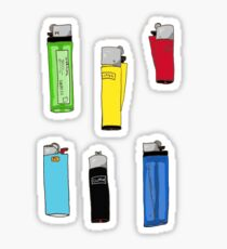 Lighters Sticker