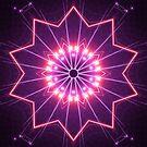 Neon Glow Kaleidoscope 02 by fantasytripp