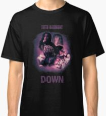 FIFTH HARMONY - DOWN purple text Classic T-Shirt