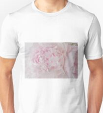 Delicate Pink Peony Flowers T-Shirt