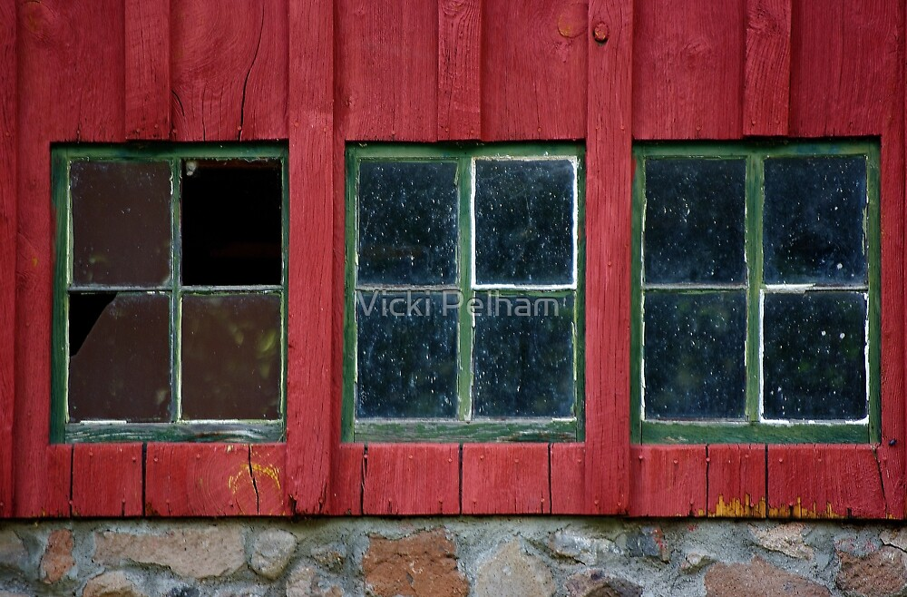 Windows of Weathered Charm by Vicki Pelham