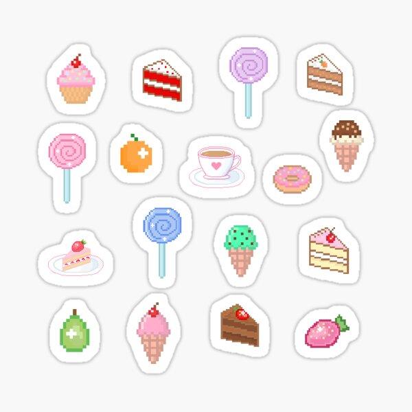 Pixel Sweets  Sticker