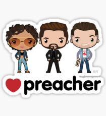 Love Preacher - Tulip, Jesse & Cas Sticker