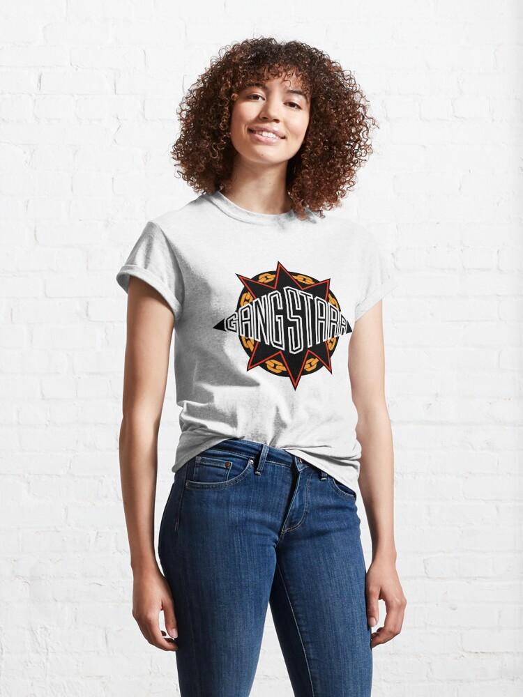 Alternate view of Gangstarr Logo Classic T-Shirt