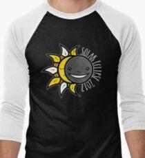 Solar Eclipse Shirt  - August 21, 2017 - Minimal Colors Black T-Shirt