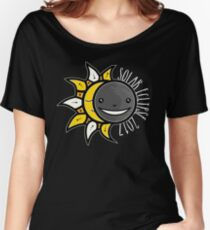 Solar Eclipse Shirt  - August 21, 2017 - Minimal Colors Black Women's Relaxed Fit T-Shirt
