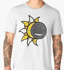Solar Eclipse Shirt  - August 21, 2017 - Minimal Colors Black Men's Premium T-Shirt