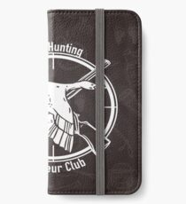 Duck Hunting Amateur club iPhone Wallet/Case/Skin