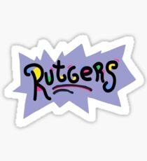 RUTGRATS Sticker