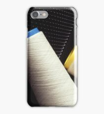 Cotton Yarn Coil iPhone Case/Skin