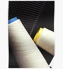 Cotton Yarn Coil Poster