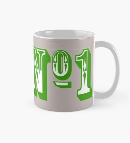 Number One (in Green) Mug