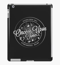 Once Upon A Time / TV / Badge Design iPad Case/Skin