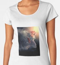 Just Listen To Your Angel Women's Premium T-Shirt