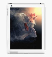 Just Listen To Your Angel iPad Case/Skin