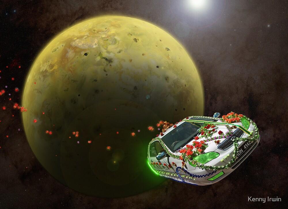 Pakistani Honeymoon Over Io by Kenny Irwin