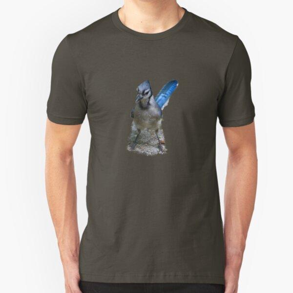 North Carolina Bluejay Tee Slim Fit T-Shirt