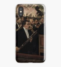 The Orchestra at the Opera 1870 Edgar Degas iPhone Case/Skin