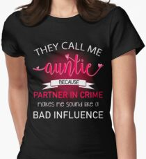 They Call me They call me Womens Fitted T-Shirt
