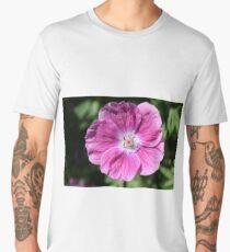 Pink summer flower blossom (Macro Close-Up) Men's Premium T-Shirt