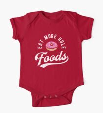 Eat More Hole Foods - Pink Donut Kids Clothes