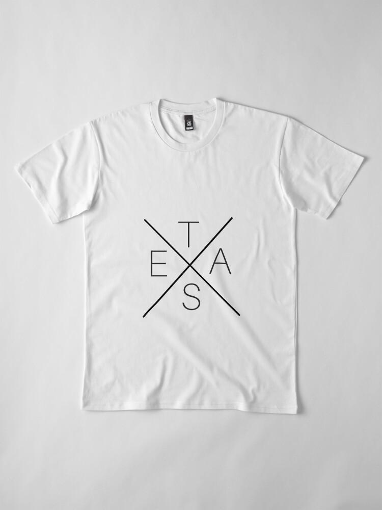 Alternate view of Texas Premium T-Shirt