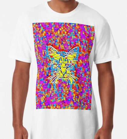 Lemon Cat Long T-Shirt