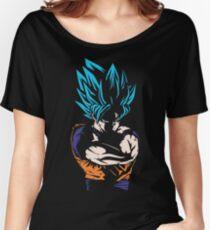 Dragon Ball Super - Goku Super Saiyan Blue Women's Relaxed Fit T-Shirt