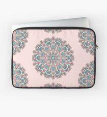 mandala#31 on pink background Laptop Sleeve