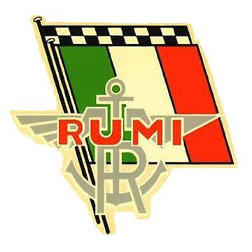 moto rumi vintage racing by cseely