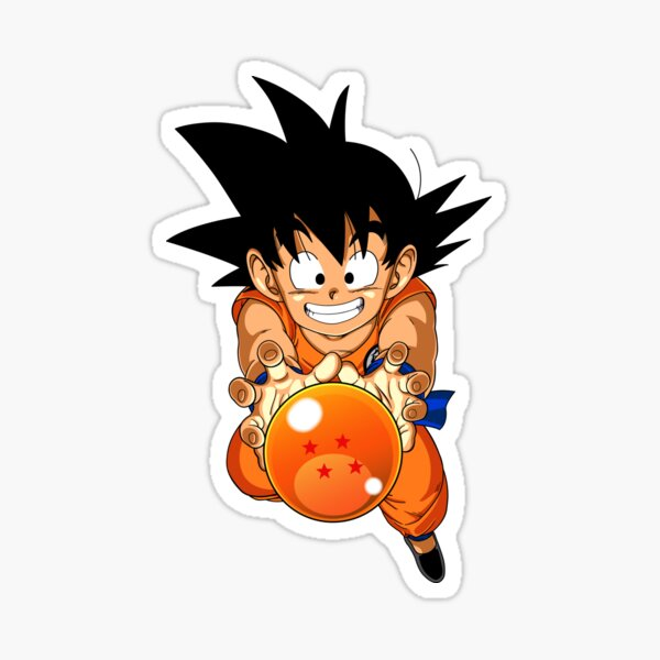 Kid Goku DBZ Sticker
