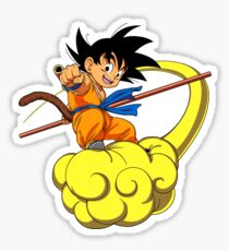 Kid Goku DBZ Sticker