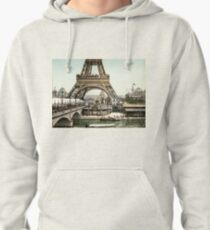 Base of The Eiffel Tower  Pullover Hoodie