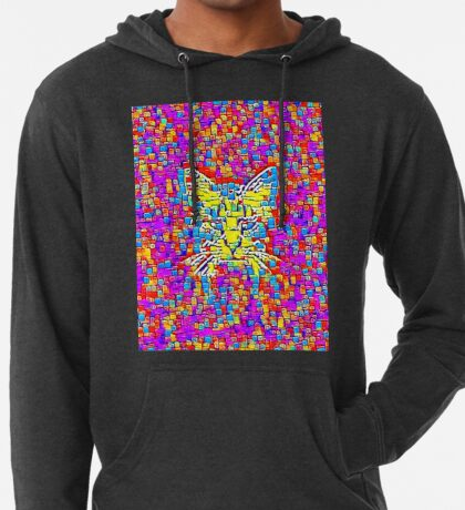 Lemon Cat Lightweight Hoodie