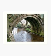 Pack Horse Bridge 2 Art Print