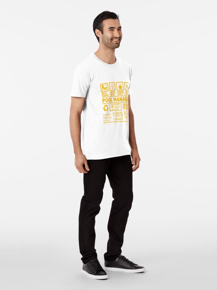 Alternative Ansicht von POOL MANAGER - Schönes Design 2017 Premium T-Shirt