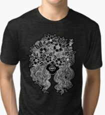 forever flower crown Tri-blend T-Shirt