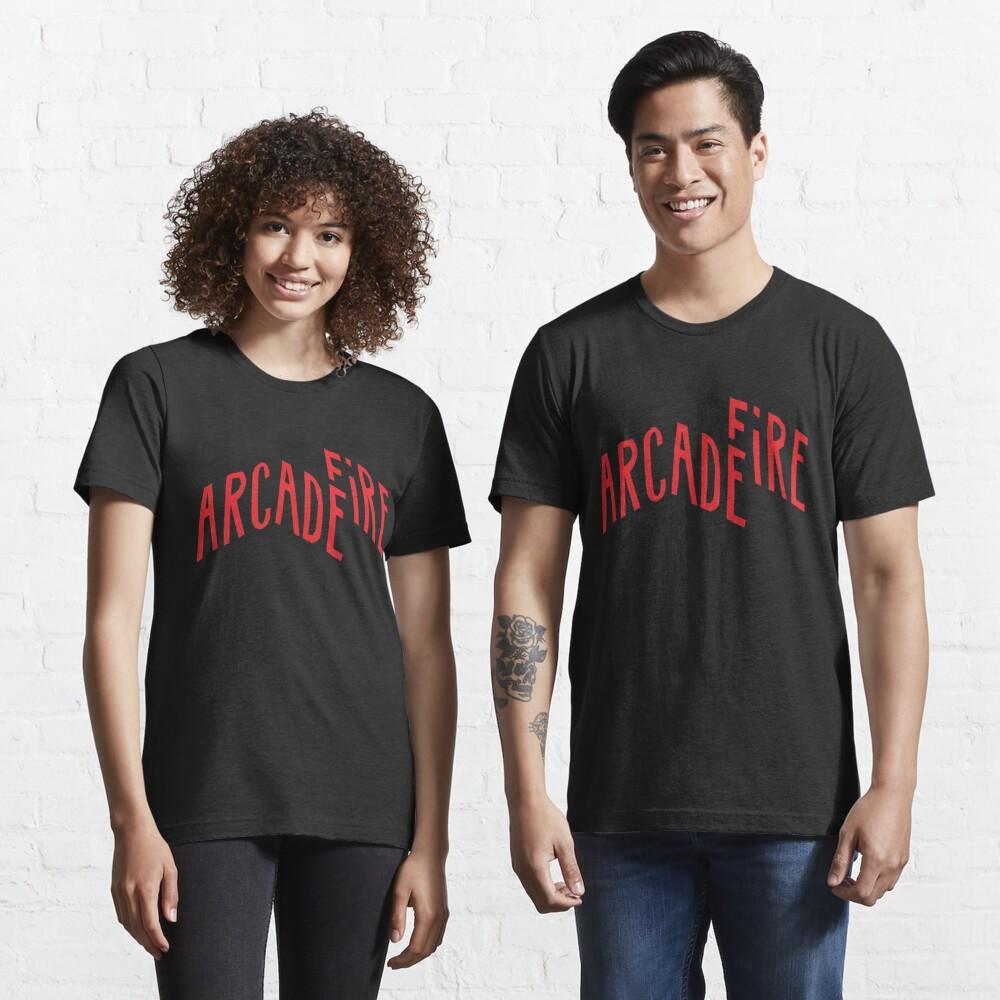 """Red Logo"" of Arcade Fire Essential T-Shirt"