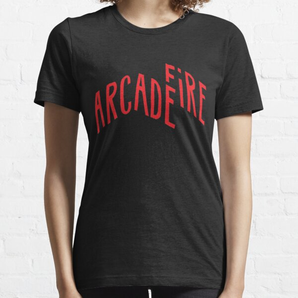 """Red Logo"" of Arcade Fire Essential T-Shirt"
