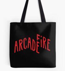 "Bolsa de tela ""Logotipo rojo"" de Arcade Fire"