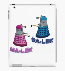 MA and DA - LEK iPad Case/Skin