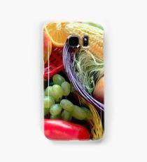 Healthy Fruit and Vegetables Samsung Galaxy Case/Skin