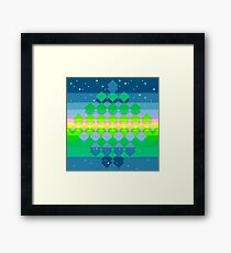 Sonic 2 - Special Stage Framed Print