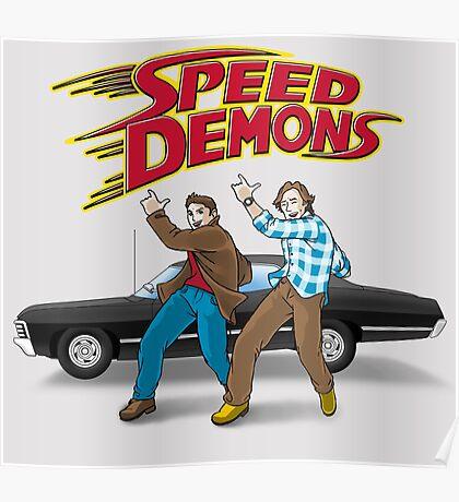 Speed Demons Poster