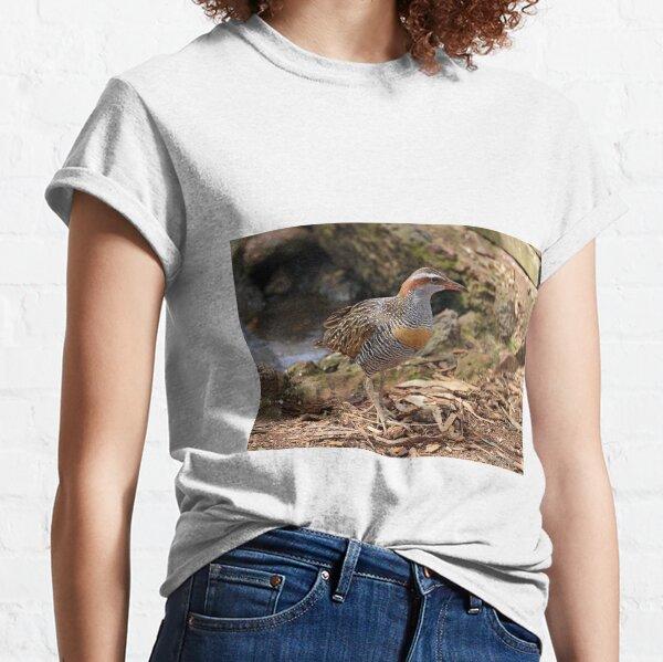 Buff-banded Rail - Lara VIC (962) Classic T-Shirt