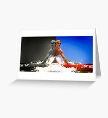 The Lifesaver, Bondi Greeting Card