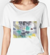 Grey n Colorful Women's Relaxed Fit T-Shirt